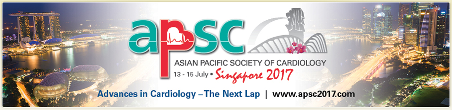APSC2017 Asian Pacific Society of Cardiology Congress Singapore 2017